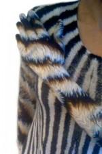 31 zebra guanto
