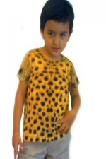 35 ghepardo manica corta